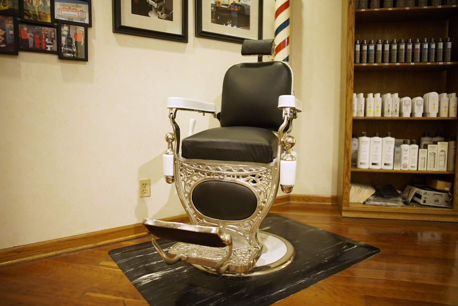 This is the original barber chair that started it all.